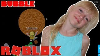 ROBLOX Bubble Gum Simulator. FLYING BUBBLE | Suziegameplay