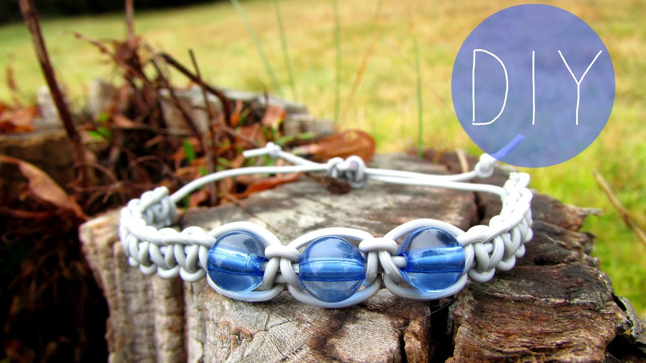 How to make a bracelet from headphones. several types of jewelry made by yourself. Step-by-step instruction 72