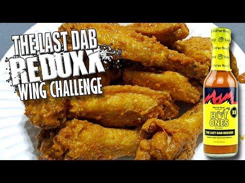 THE LAST DAB REDUXX WING CHALLENGE w/ QUAD DAB FINAL WING!