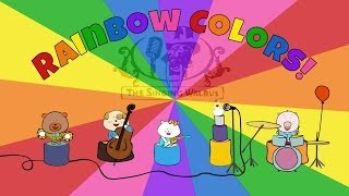 Rainbow Colors Song | Colors Song for Kids | The Singing Walrus