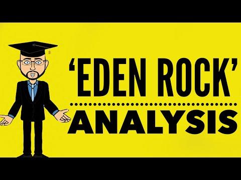 'Eden Rock' by Charles Causley -  Mr Bruff  Analysis