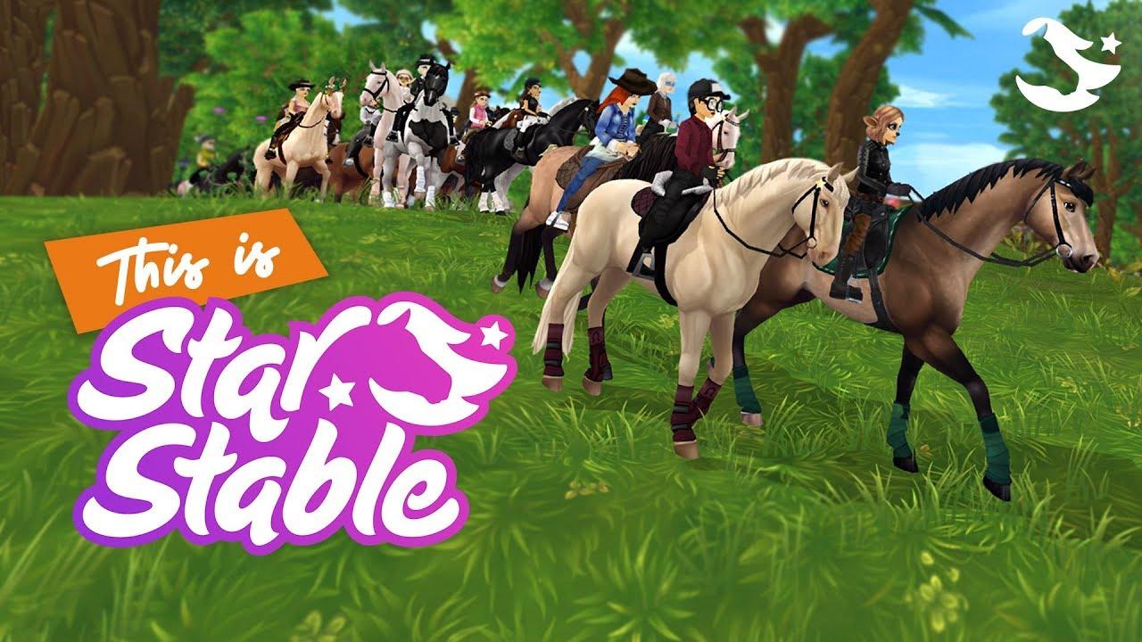 Star Stable - игра в жанре лошади,приключения,фэнтези,MMORPG
