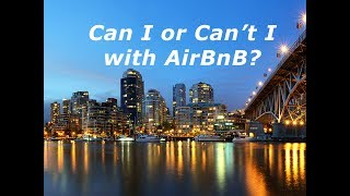 Gambar cover Can I or Can't I AirBnB? - McInnes Marketing Vlog #35