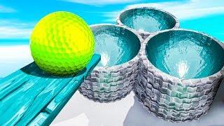 ГДЕ ЖЕ ФИНИШ? ЭТО 100% САМАЯ УГАРНАЯ ТРОЛЛЬ ЛУНКА! ПРОШЛИ МЕГА СЛОЖНУЮ КАРТУ В ГОЛЬФ ИТ (Golf It)