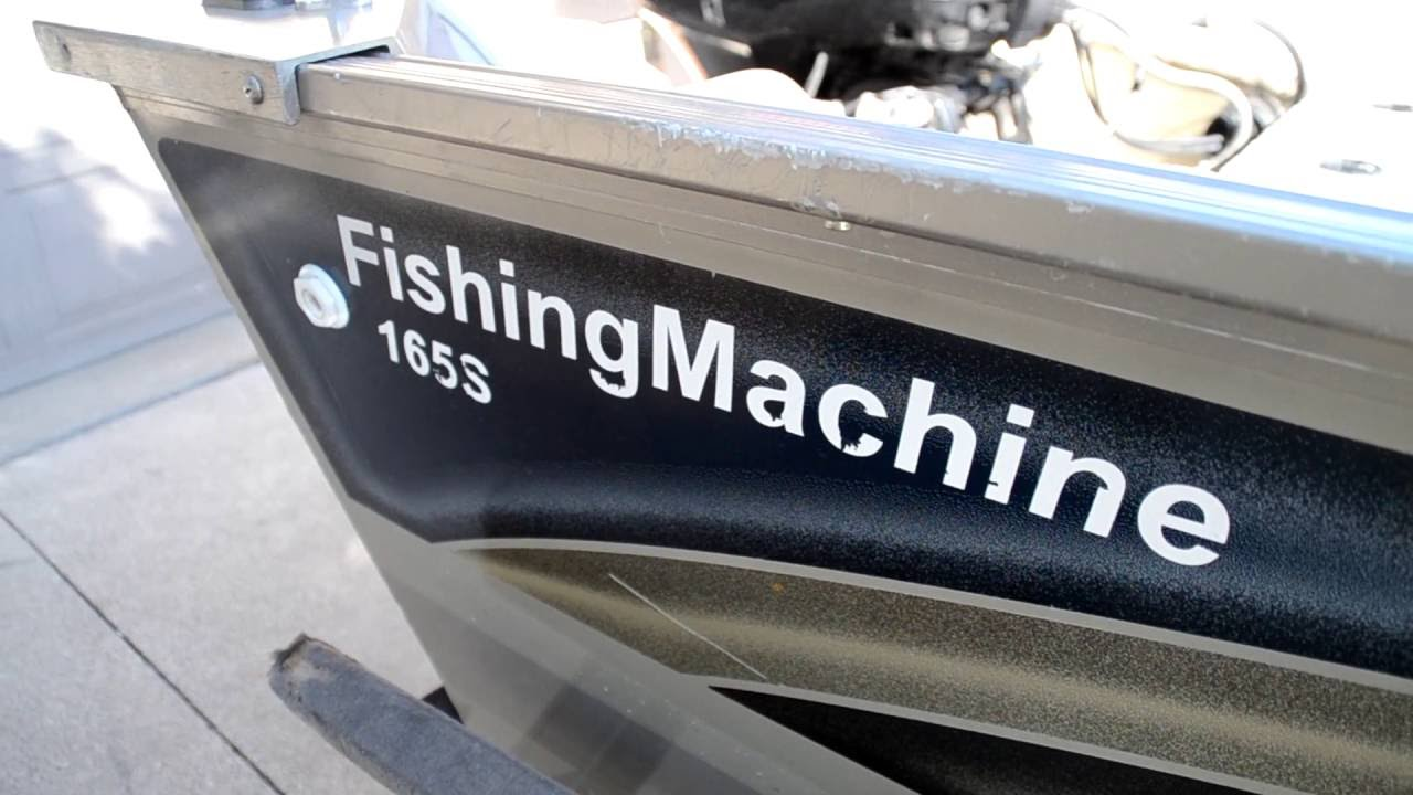 Lowe 165s Fishing Machine Tour  2006