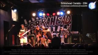 ZEBRAHEAD - Sirens [Toronto 2014] [1080p]
