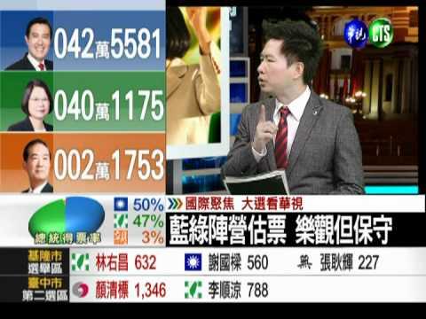 2012總統大選 開票實況6 - YouTube