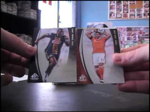 Peter's 2011 Sp Game Used Soccer Box Break