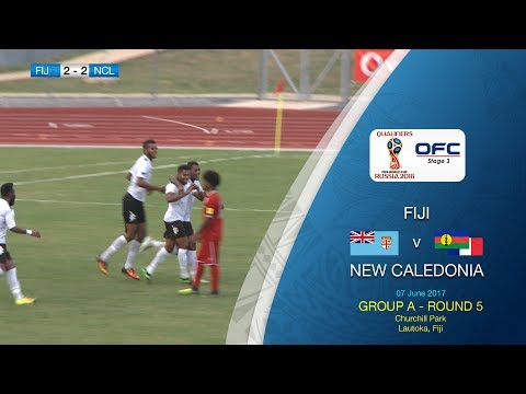 Fiji v New Caledonia - 2018 FIFA World Cup Qualifier Highlights
