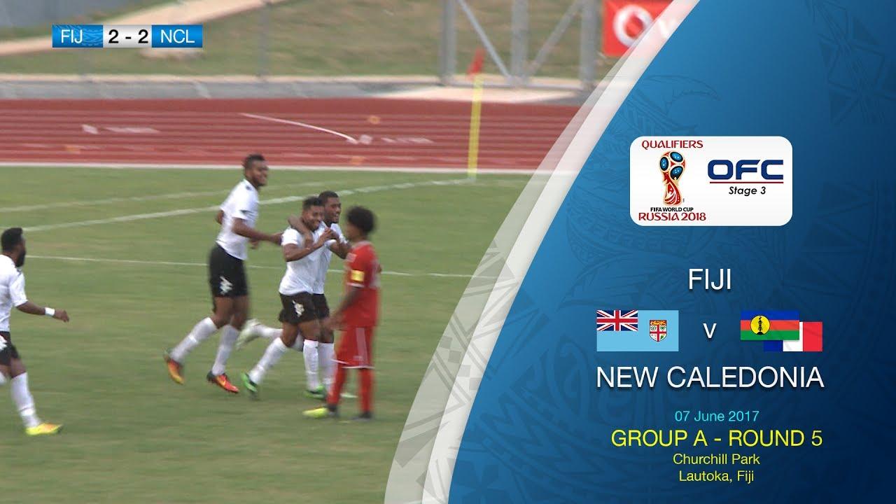 Фиджи - Новая Каледония 2:2 видео