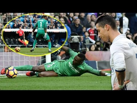 The Post & Kameni Denied C.Ronaldo From Scoring Vs Malaga