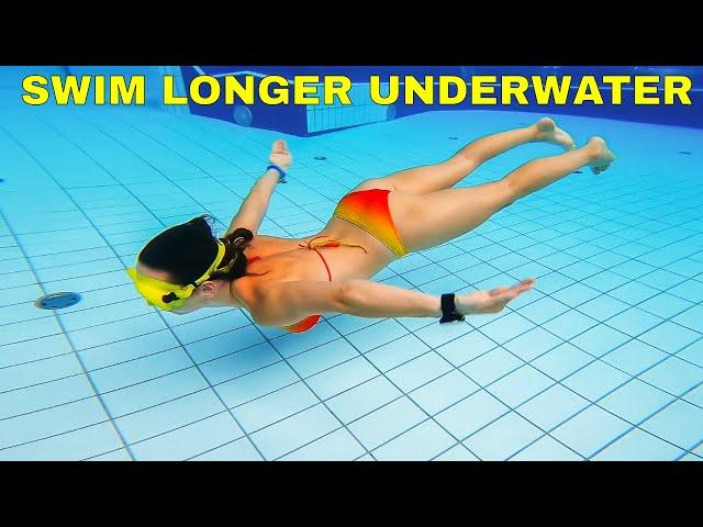 How to swim longer distance underwater - 5 tips