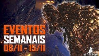 Monster Hunter World - EVENTOS DA SEMANA 08/11 - 15/11 - PS4/XBOX/PC