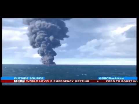 World News Today Oil Tanker sinks all people dead