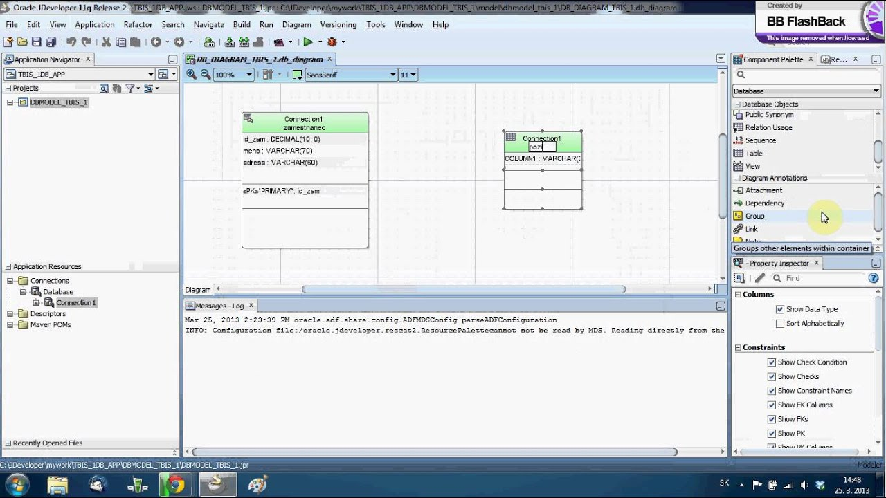 Jdeveloper database diagram youtube jdeveloper database diagram ccuart Image collections