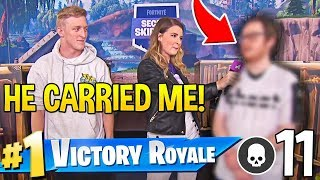 TFUE *SUPER IMPRESSED* as UNDERRATED PRO *CARRIES* in Fortnite SECRET Skirmish!