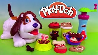 Play Doh Puppies Playset Pâte à modeler Adorables Chiots Perrito Juguetón streaming