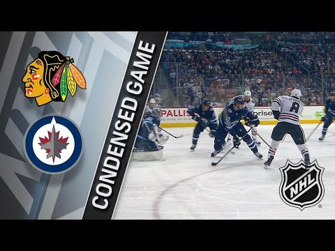 12/14/17 Condensed Game: Blackhawks @ Jets