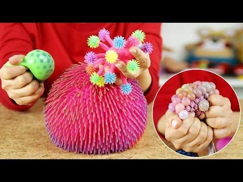 Zabawki antystresowe i progresywne