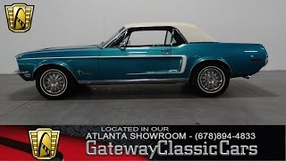 1968 Ford Mustang - Gateway Classic Cars of Atlanta #48