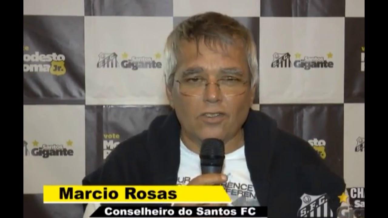 Marcio Rosas, conselheiro do Santos, ameaça associados do clube em São Paulo - YouTube