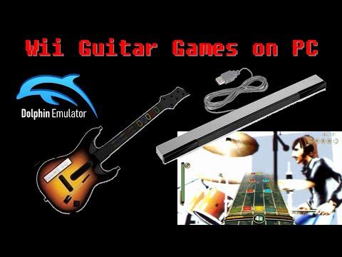 Playing Guitar Hero & Rock Band Emulation On PC