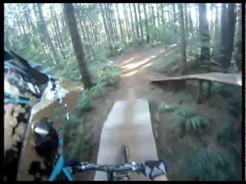 Black Rock Mountain Bike Park Top To Bottom Youtube