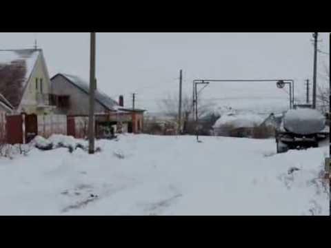 снежные заносы в волгограде