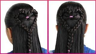 Trenza de Corazón Paso a Paso | Heart Braid Hairstyle
