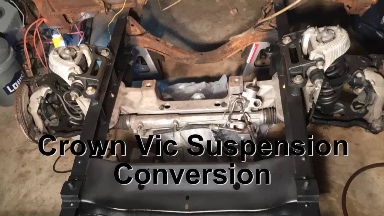 1960 chevy truck front suspension swap