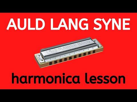 Auld Lang Syne' super-easy beginner harmonica lesson on C harp ...