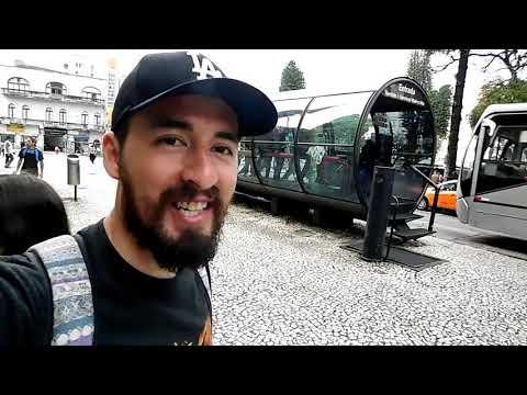 Curitiba, Estado do Paraná-Brasil. VUELTA AL MUNDO! Jeremías Zárate