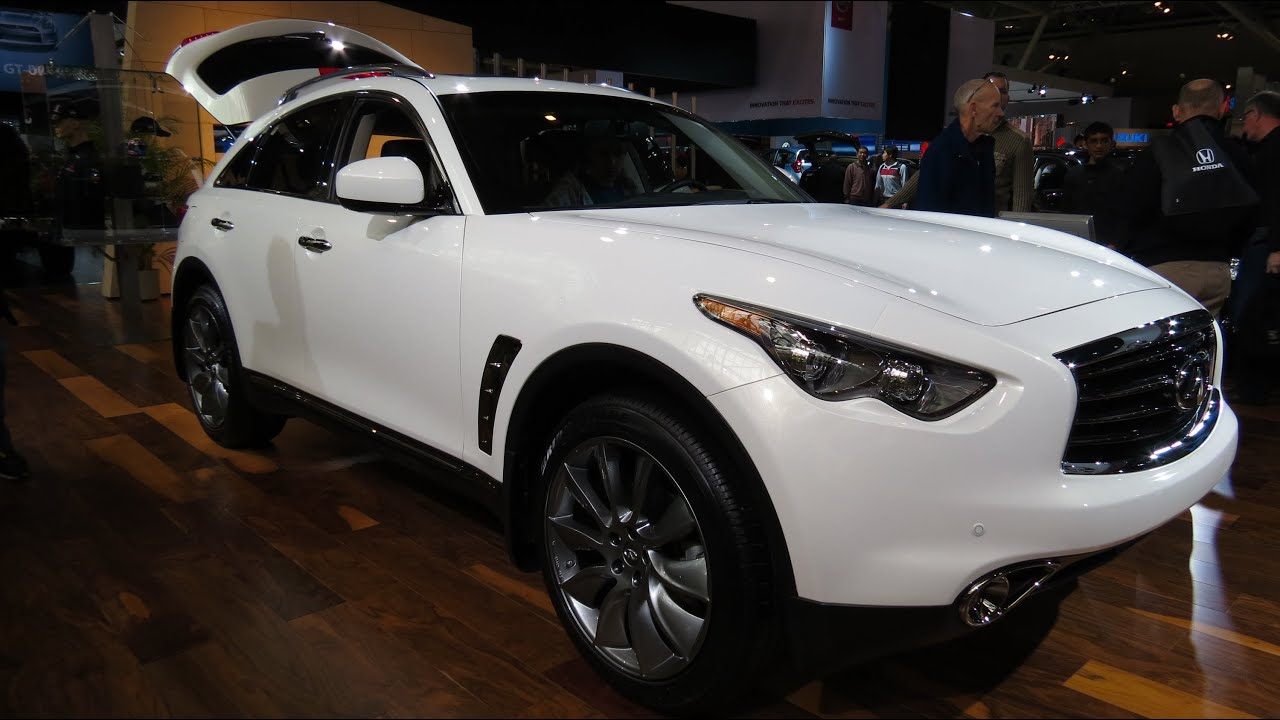 2013 infiniti fx37 at the 2013 canadian int auto show toronto