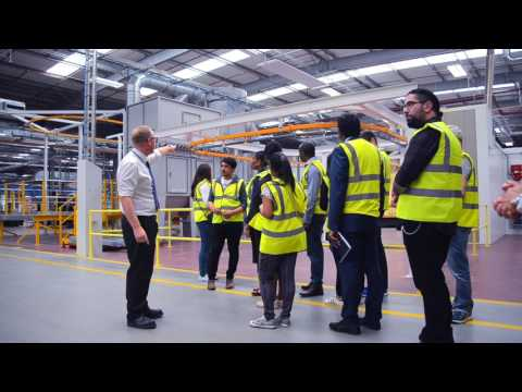 Leeds Beckett University Students Visit Airedale International Air Conditioning