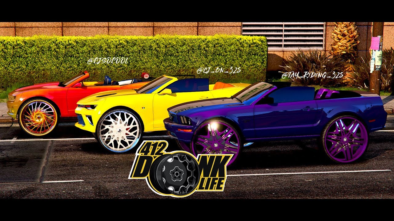 Grand Theft Auto 5 Donk Big Rim Edition Cj On 32s