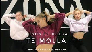 Arnon ft. Killua - Te molla / jazzfunk choreography by Diana Husainova/ джазфанк хореография