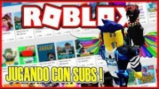 ROBLOX LIVE BY THE 1000 SUBS WHEN WE ARRIVE ROBUX SWEEPSTAKE !!!