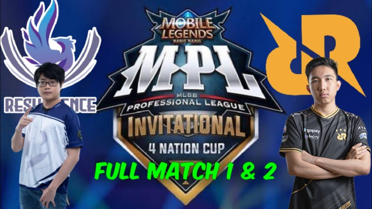 RRQ Vs Resurgence MPL 4 Invitational playoffs | full match