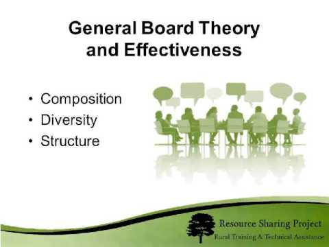 Board Development 101:   Understanding the Roles and Respons