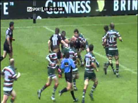 Leicester Tigers vs Saracens - Premiership Rugby Final 2010