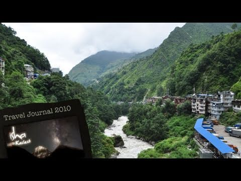 Crossing the Friendship Bridge - Episode 4 of Isha Kailash 2010 Travel Journal