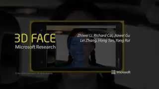 Microsoft Research 3D Face Sanner