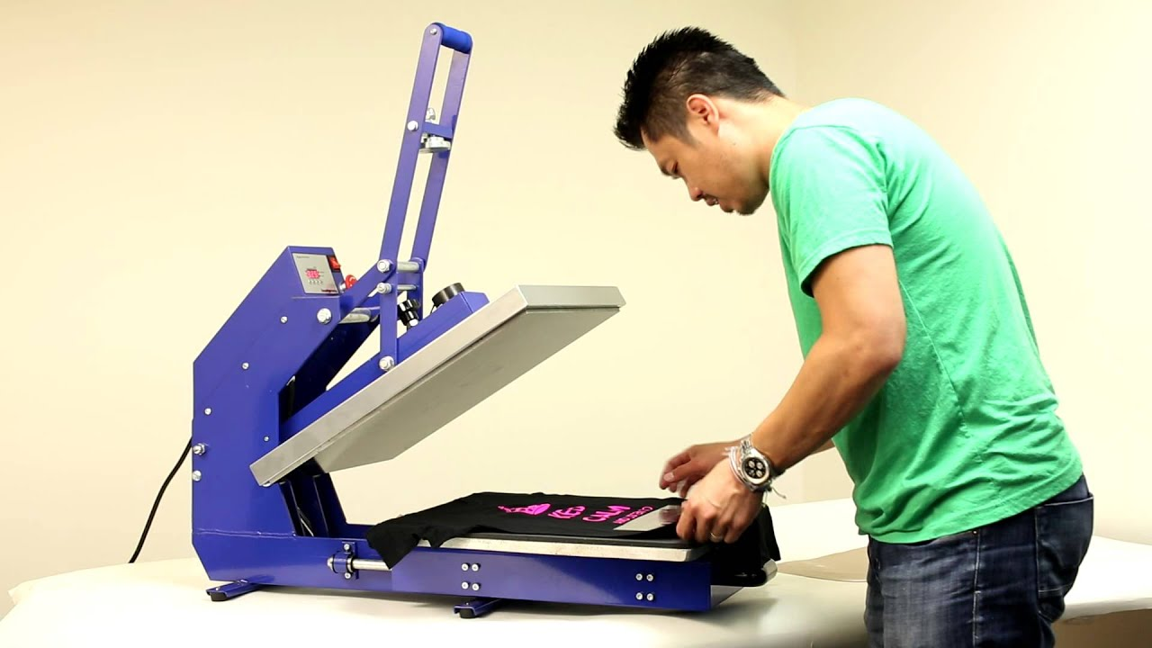 max heat press machine