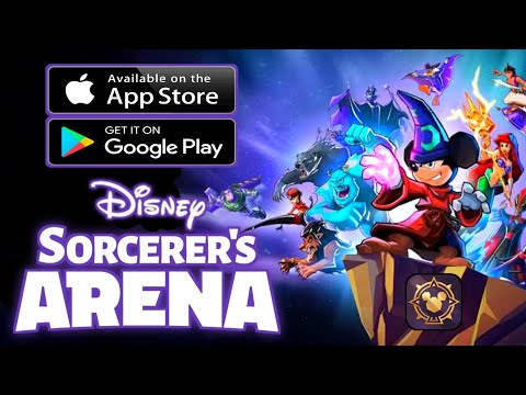 DISNEY SORCERER'S ARENA - Gameplay Android, IOS - (RPG)