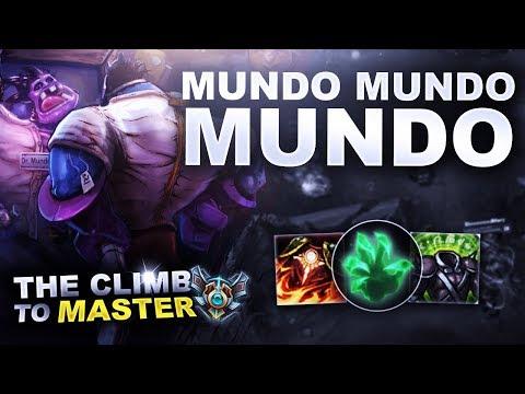 MUNDO MUNDO MUNDO - Climb to Master | League of Legends