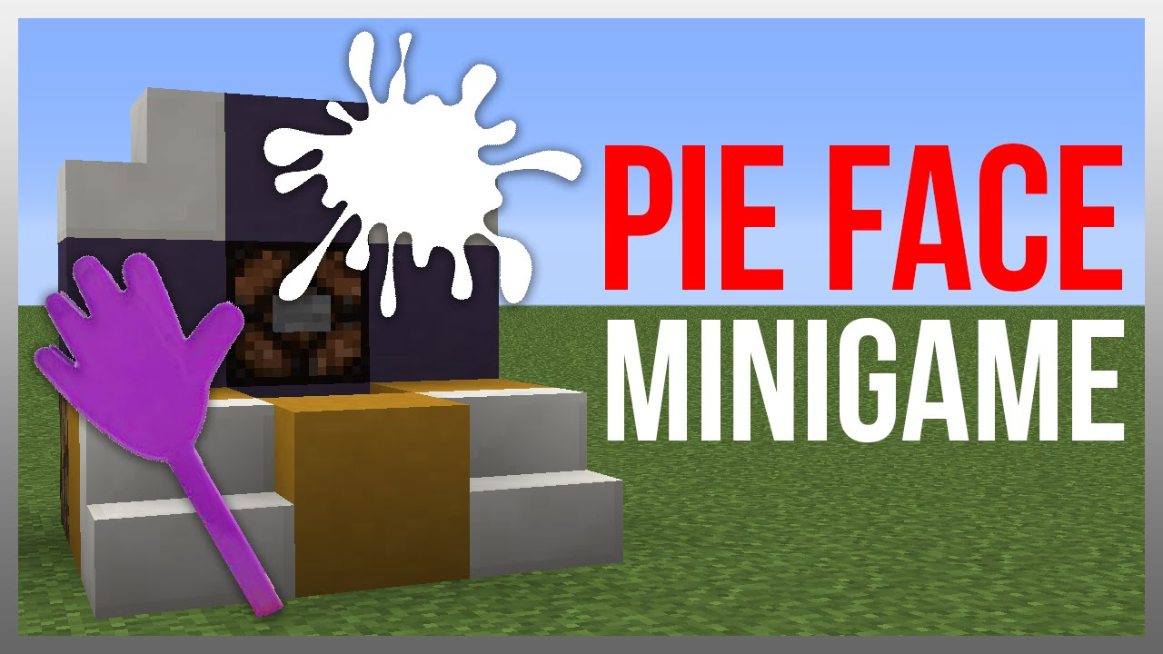 Minecraft 112 redstone tutorial pie face game inspired youtube baditri Images