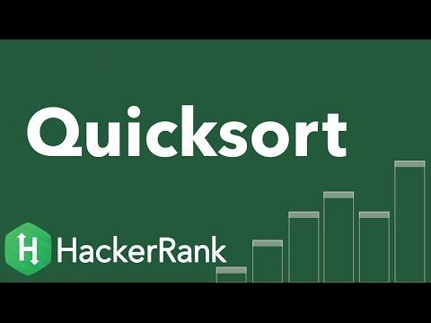 Algorithms: Quicksort