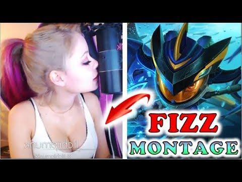 Fizz Montage - NA Fizz Main - League Of Legends | Stream Moment : Lilchiipmunk