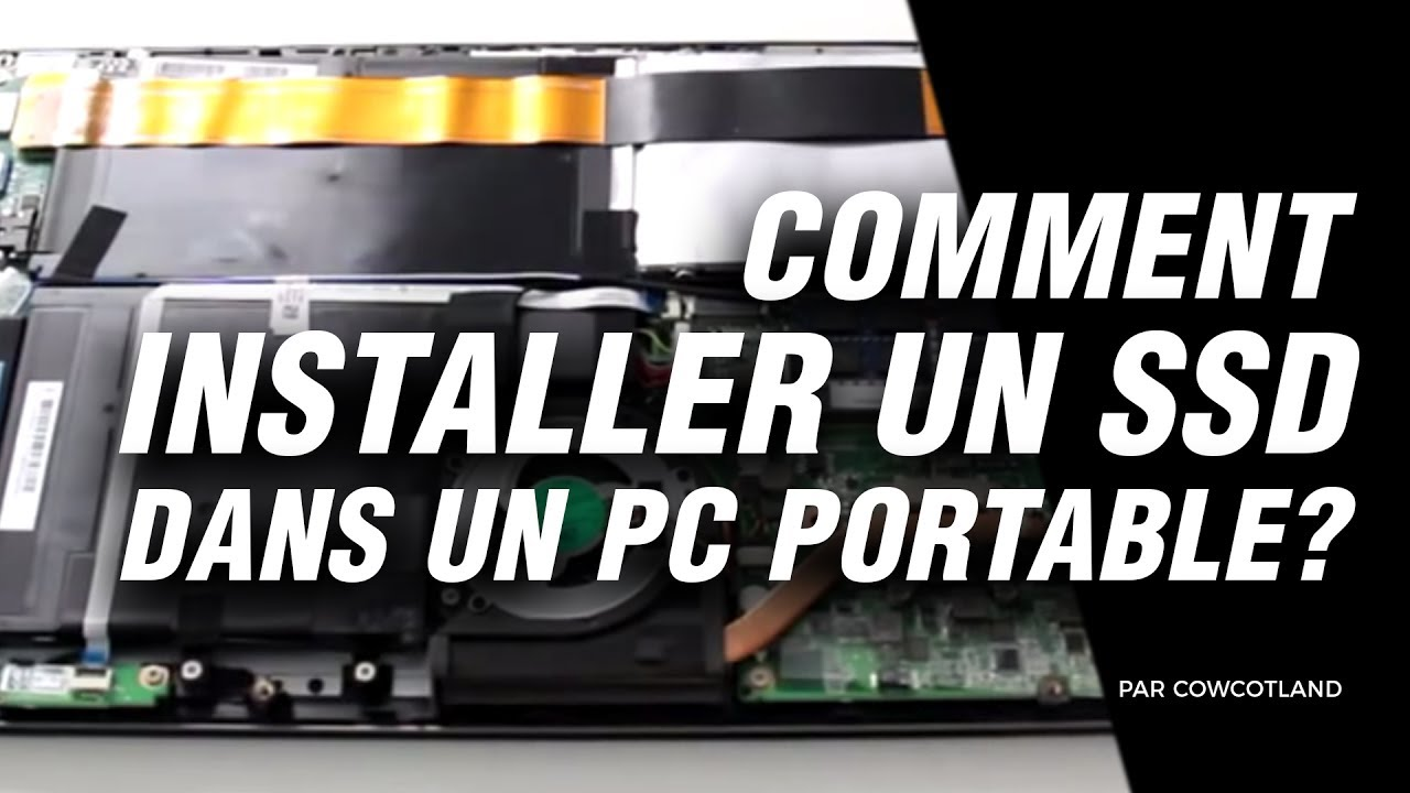atelier ldlc comment installer un ssd dans un pc portable youtube. Black Bedroom Furniture Sets. Home Design Ideas