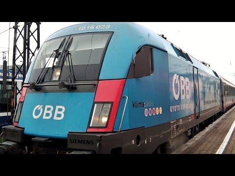 Augsburg Hbf mit ICE-S (!), 1, 2, 3 & -T, EC +ÖBB Kyoto-Lok, BRB, ET 440, VT 642, Güterzüge